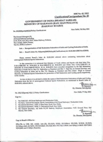 Railway Ministry Recognized Ball Badminton